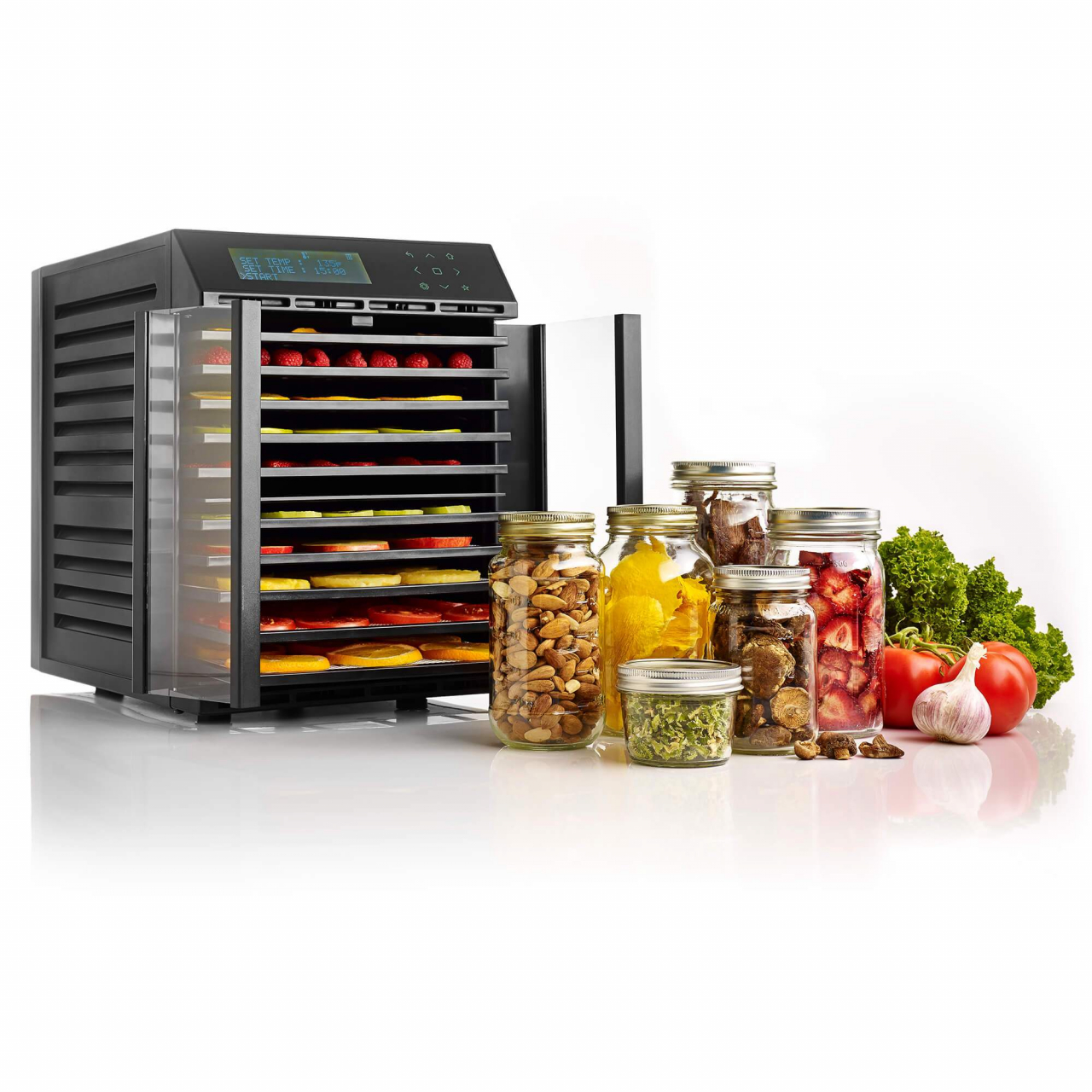 RES10 Smart Digital 10 Tray Compact Excalibur Dehydrator