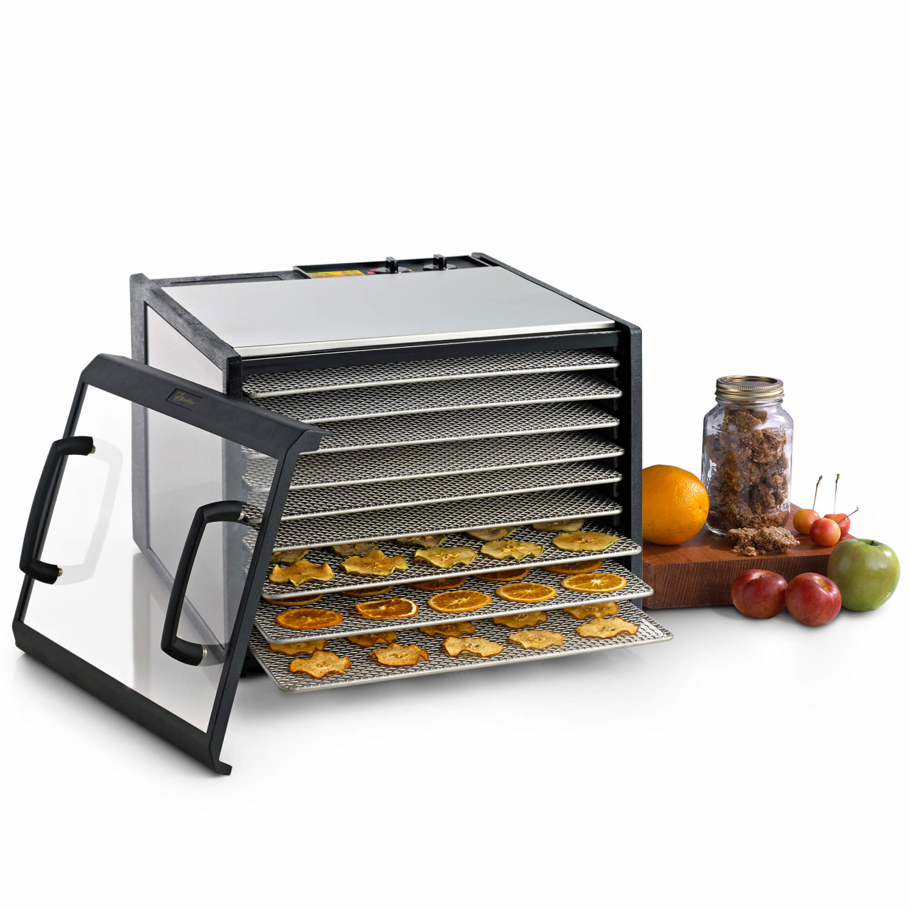 D902CDSHD Stainless Steel 9 Tray Excalibur Dehydrator