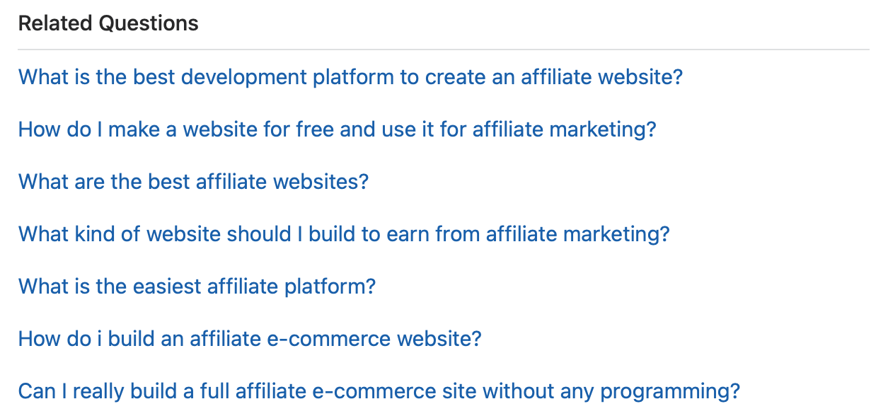 Quora Topic Related Questions