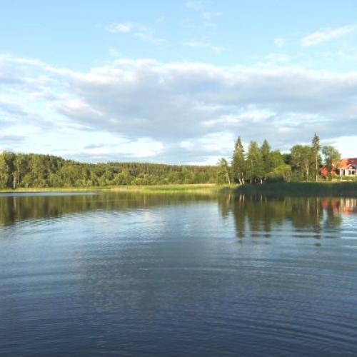 Sjön Lilla Aspan