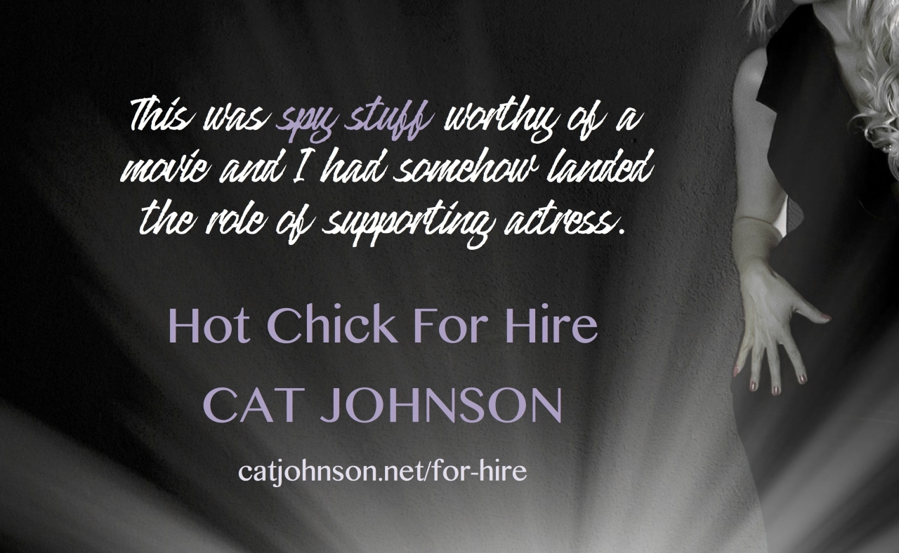 Hot Chick for Hire Cat Johnson