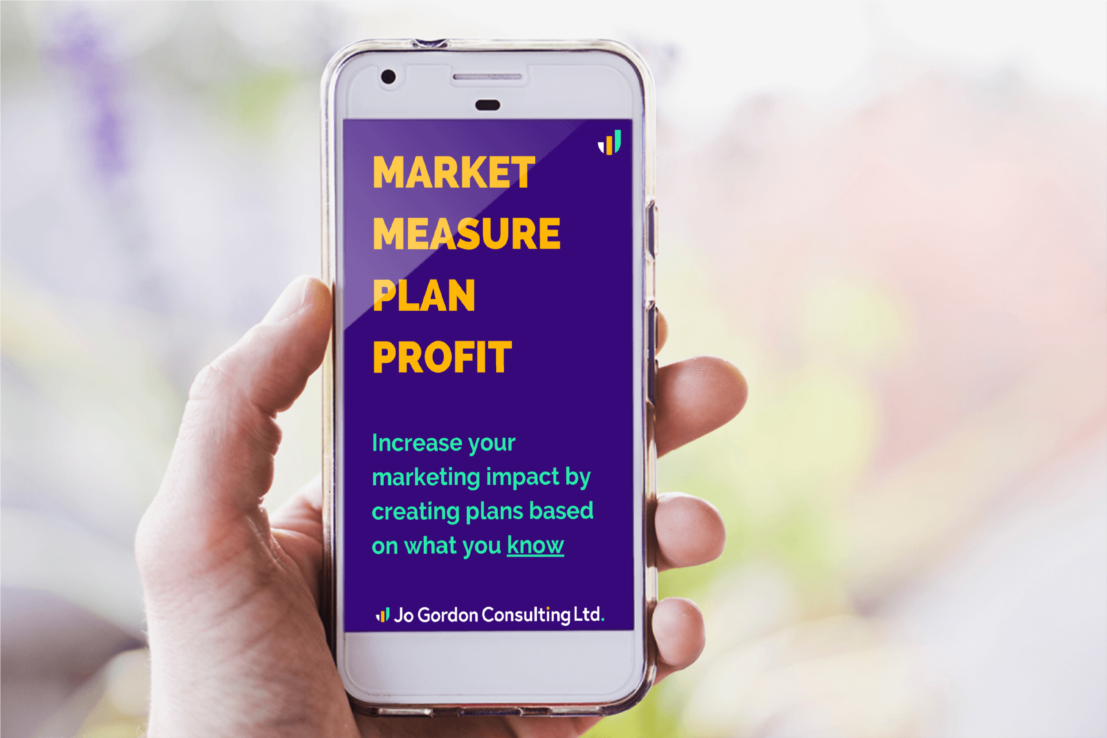 Market, Measure, Plan, Profit: Increase your marketing impact by creating plans based on what you know.