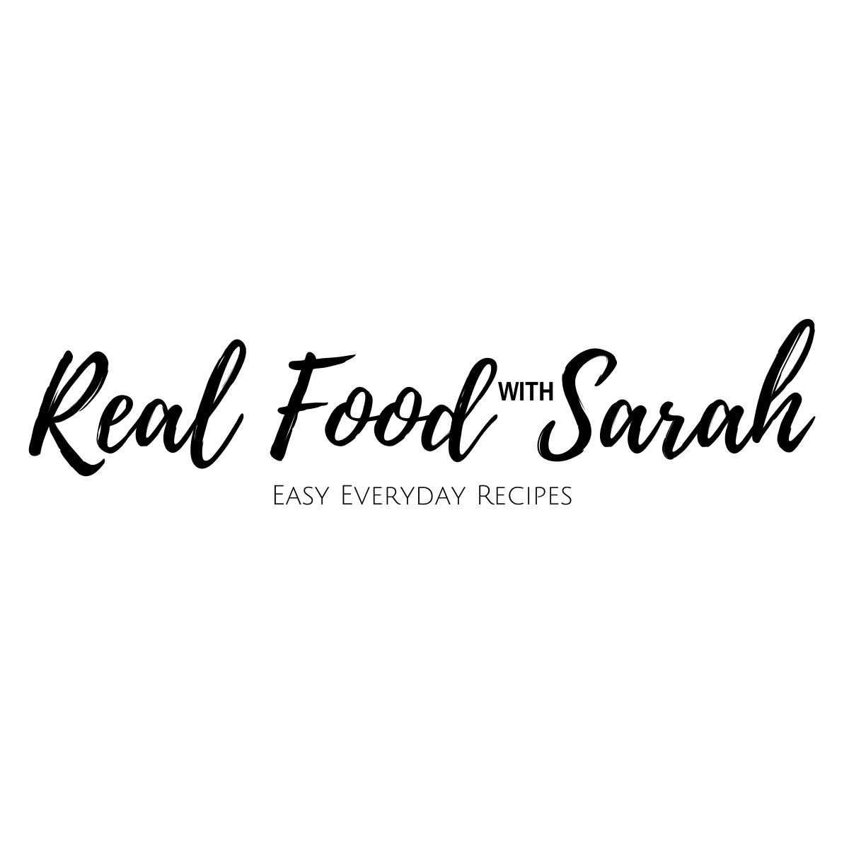 Real Food with Sarah logo