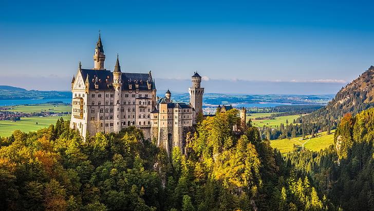 Los castillos más bonitos para visitar en Europa