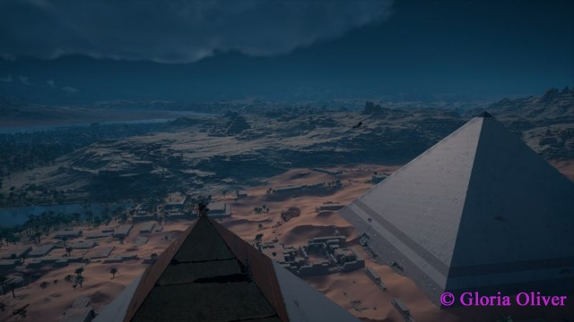 Assassin's Creed Origins - pyramid view