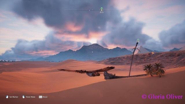 Assassin's Creed Origins - desert sunrise