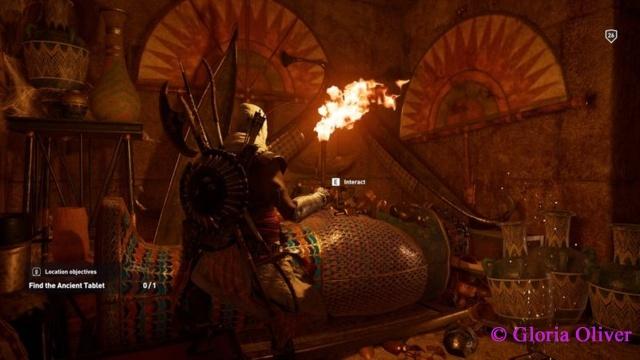 Assassin's Creed Origins - pyramid treasure