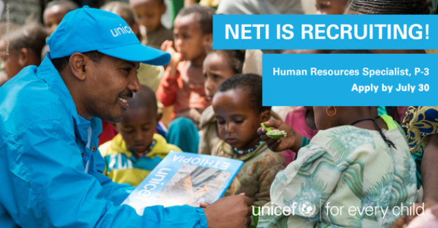 UNICEF NETI - New and Emerging Talent Initiative 2017