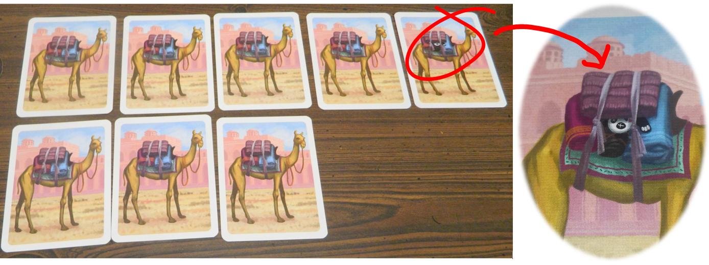 Dead panda on camel's back