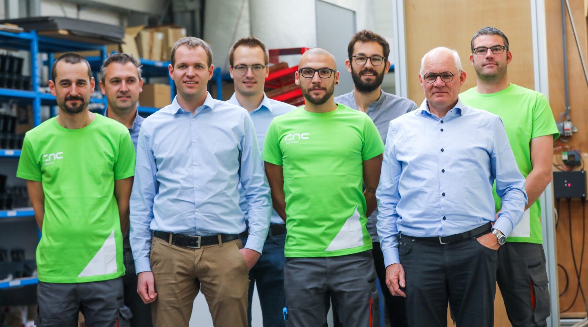 cnc solutions team