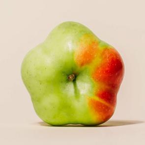 Star shaped apple