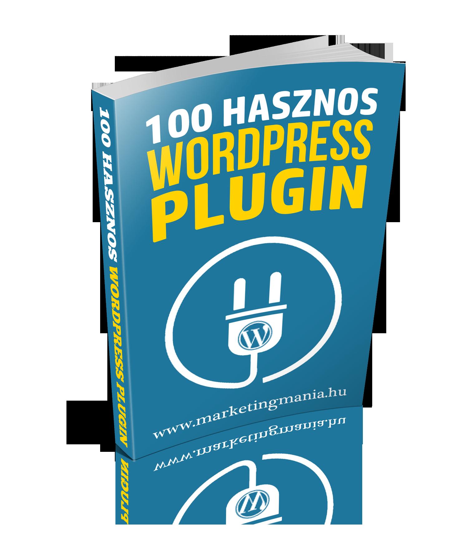 100 hasznos WordPress plugin