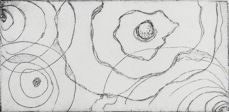 Intuitive Map - intaglio - Cynthia Rand-Thompson