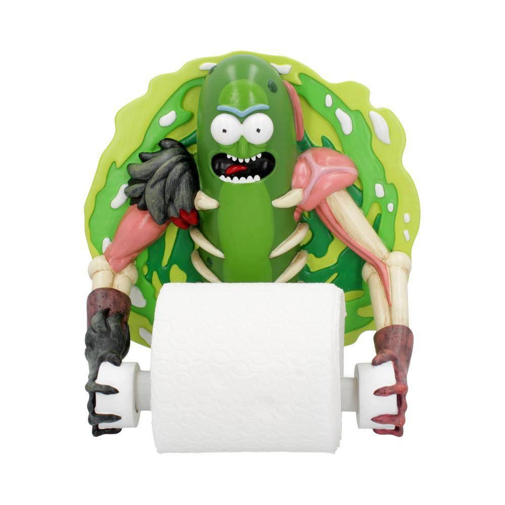 Držák na toaleťák Pickle Rick