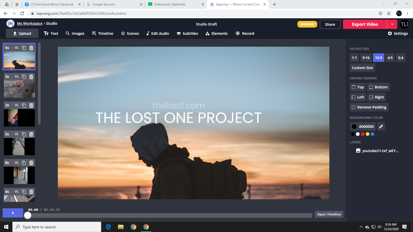 The Project Begins with a DRUNK Christian?