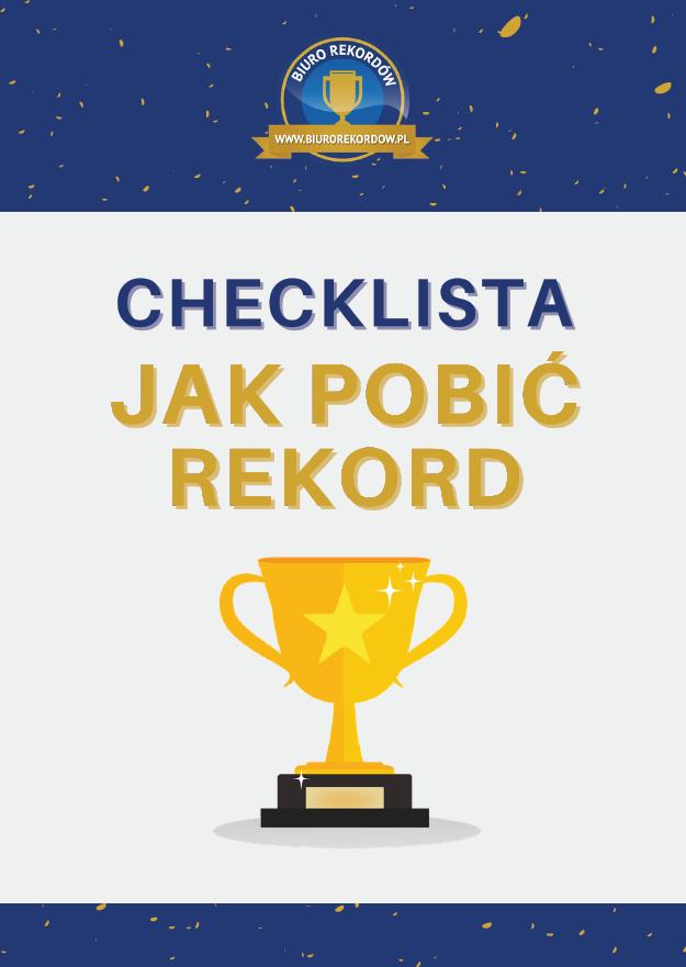 Checklista - Jak pobić rekord