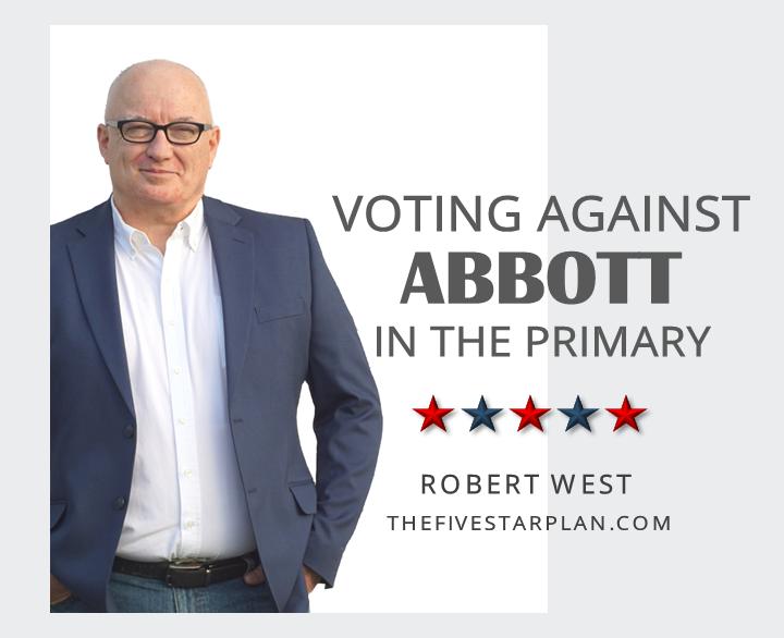 Voting Against Abbott in the Primary