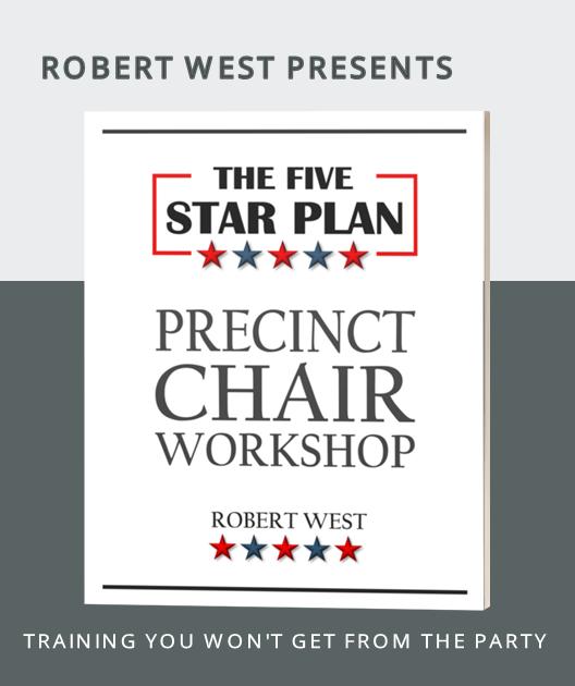 The Five Star Plan, Precinct Chair Workshop Training