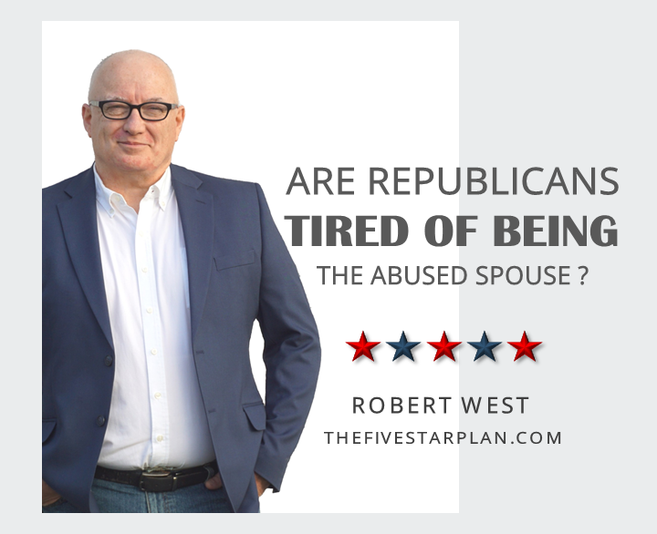 Are Republicans Tired of Being the Abused Spouse