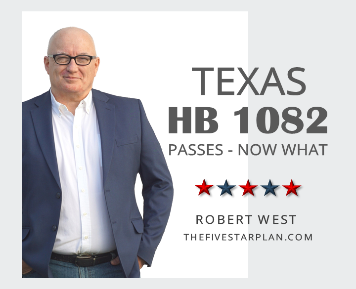 Texas HB 1082 Passes - Now What?