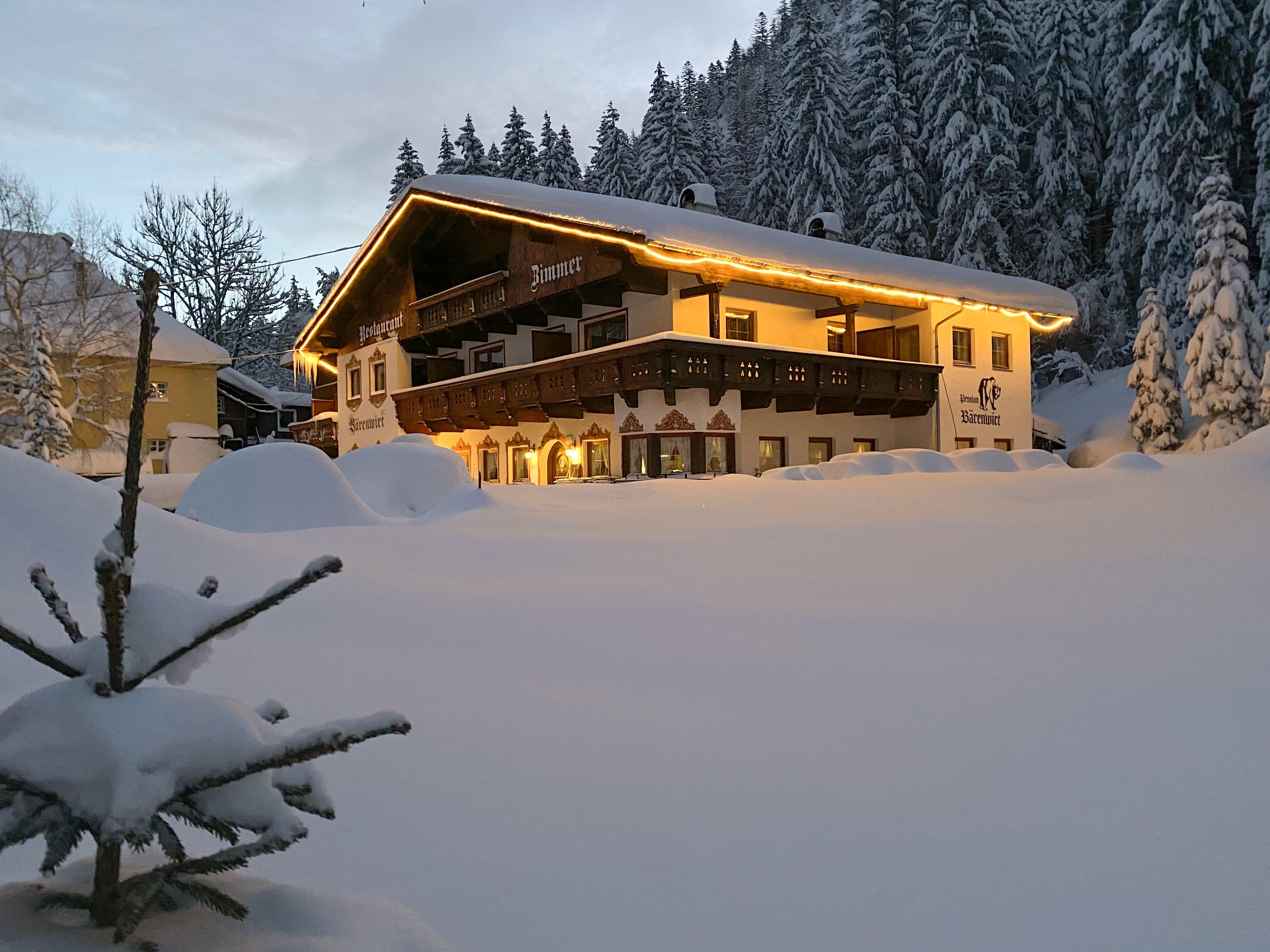 Pension Bärenwirt Leutasch im Winter