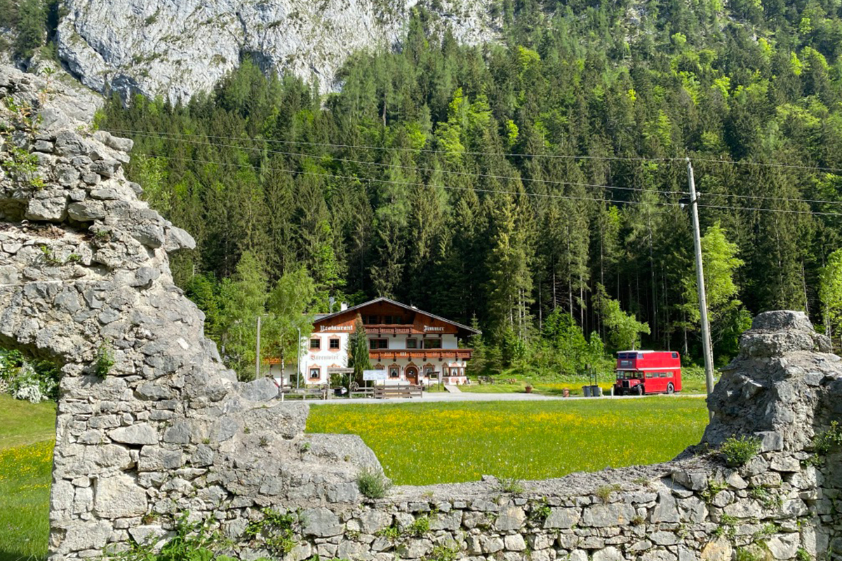 Pension Bärenwirt Leutasch aus der Porta Claudia