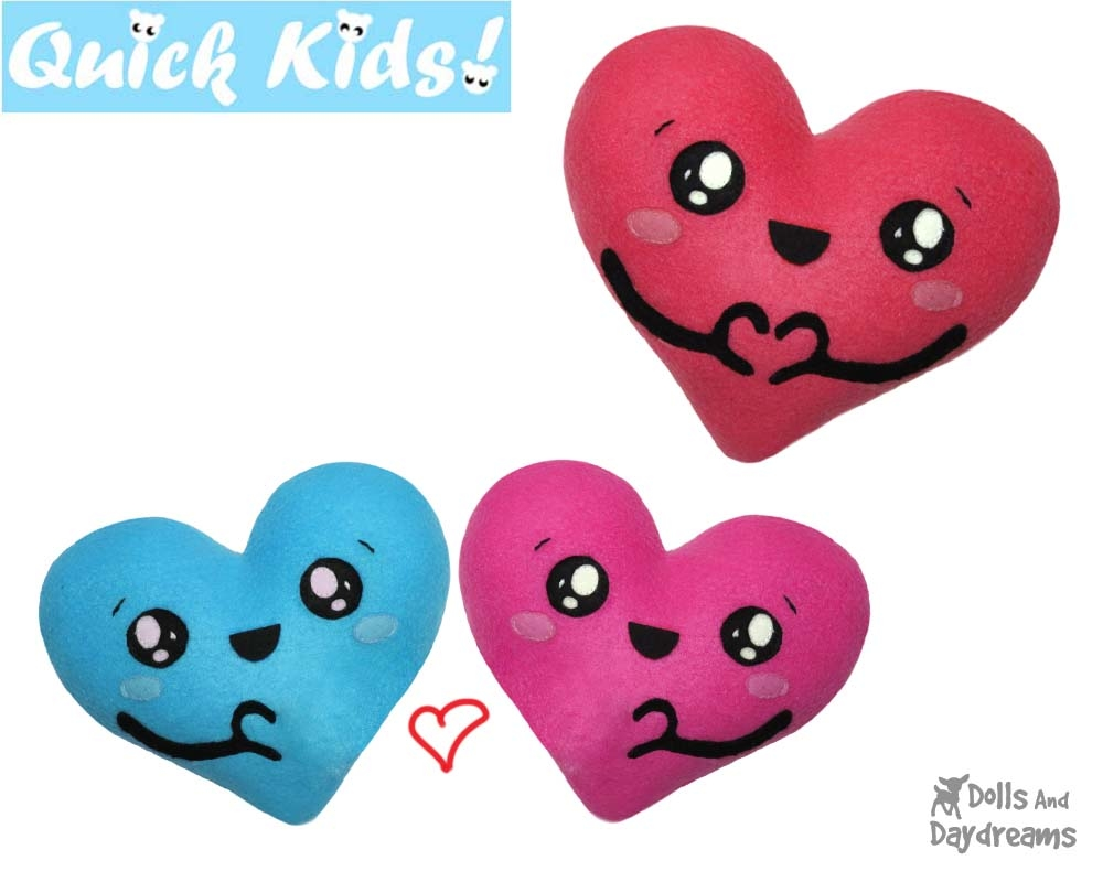 Quick Kids 'I Love U' Pattern Sewing Pattern