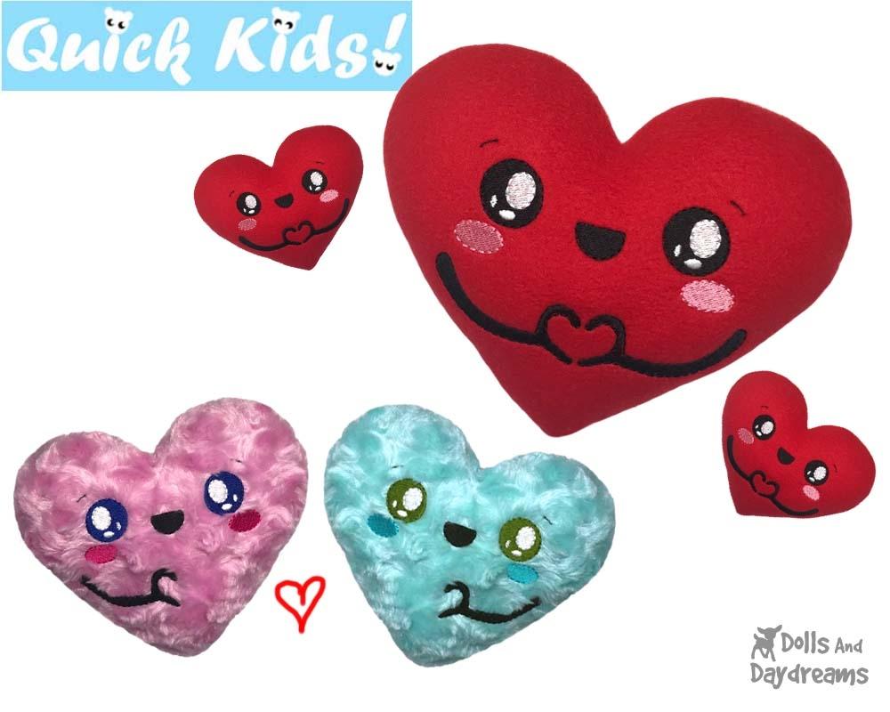 ITH Quick Kids 'I Love U' Pattern