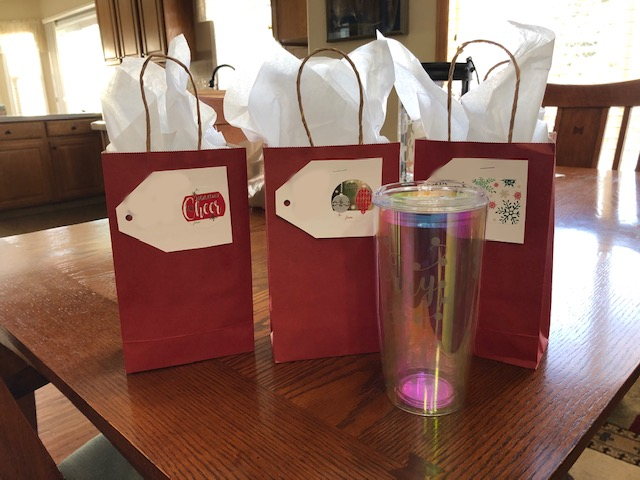 PHOTO: Christmas Gift Bags