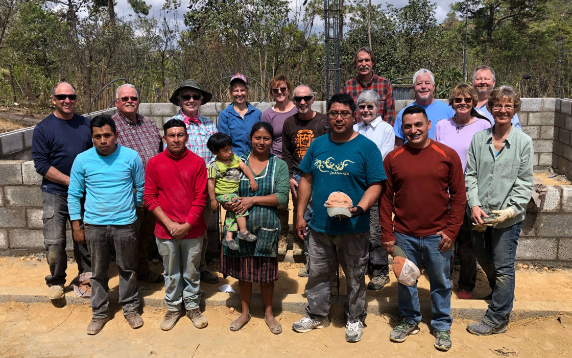 PHOTO: Pura Vida FUMC construction crew in Guatemala Feb 2020