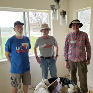 PHOTO: FUMC volunteers at H4H renovation