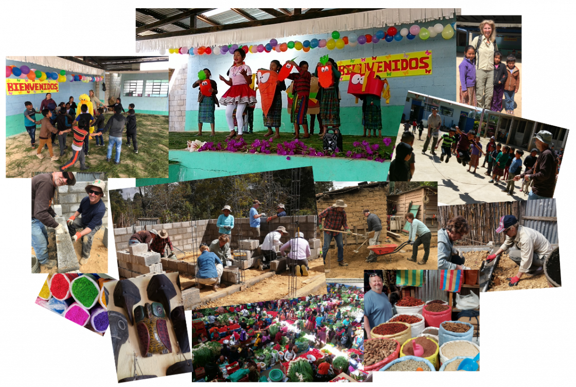 PHOTO: Collage of FUMC 2020 mission trip to Guatemala