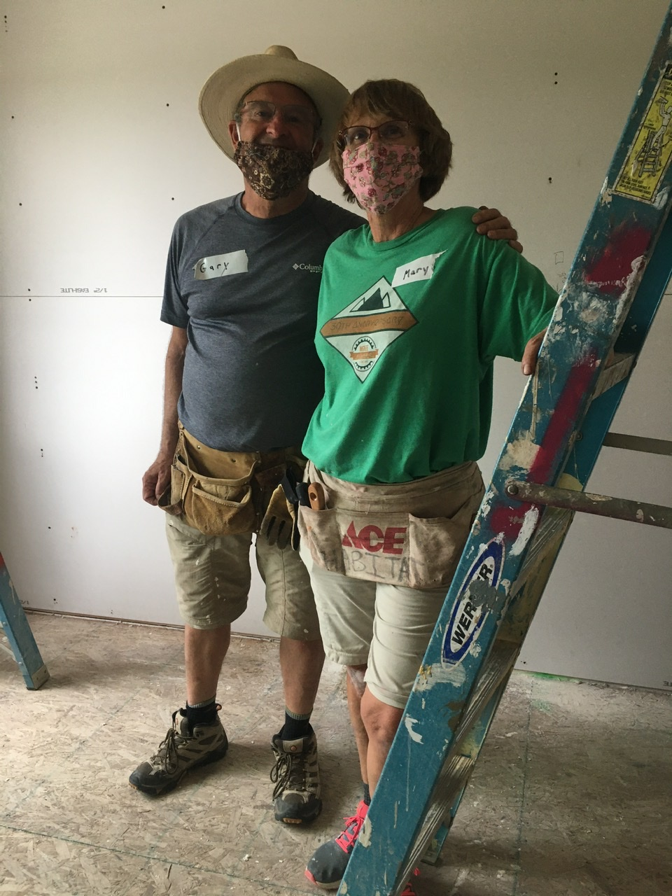PHOTO: working at H4H - July 2020
