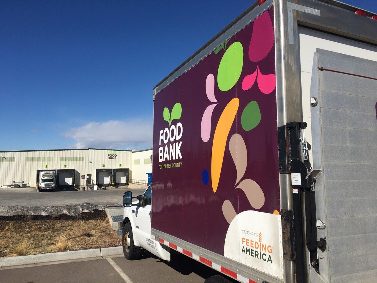 PHOTO: Food Bank warehouse