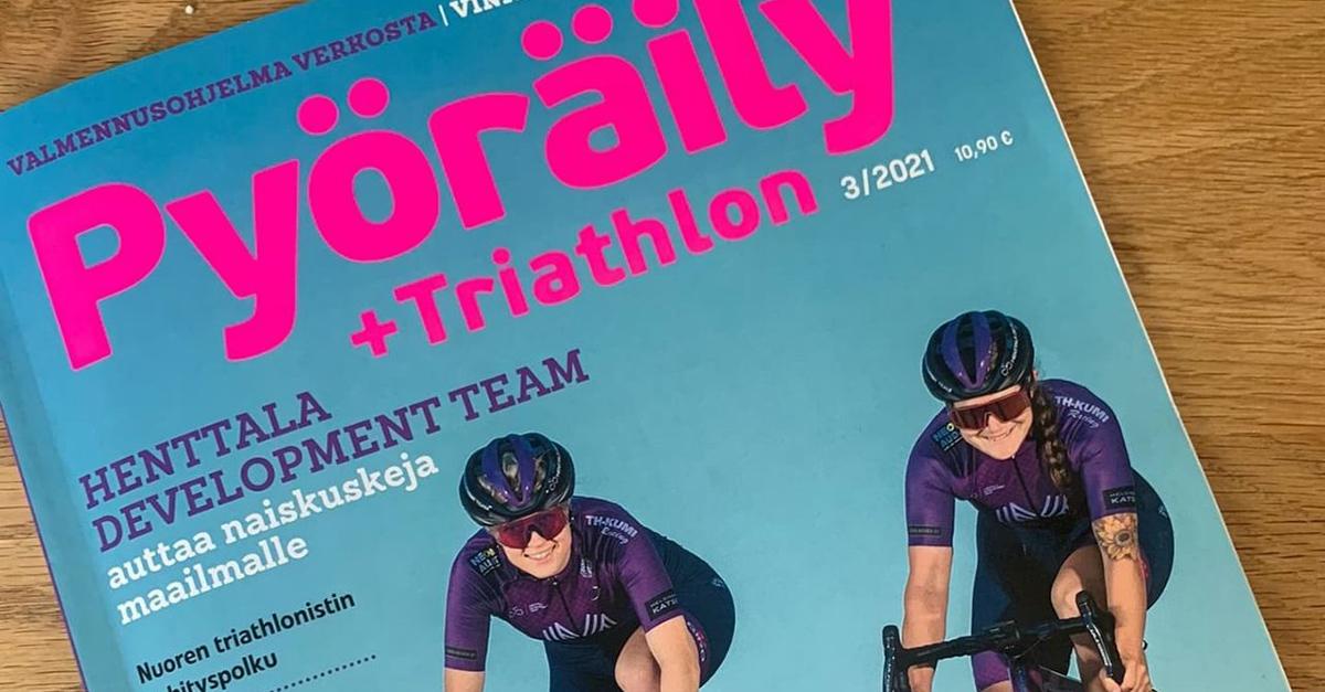 Ida ja Henttala Development Team Pyöräily+Triathlon -lehdessä