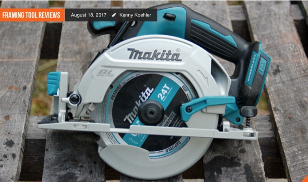 "Makita 18V LXT Brushless 6-1/2"" Circular Saw"
