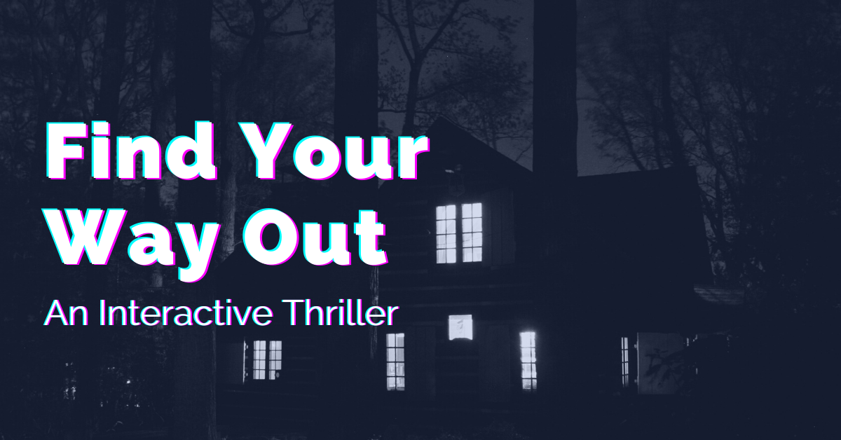 Free Interactive Fiction Gamebook by Mystery and Thriller Author Shawn Jolley