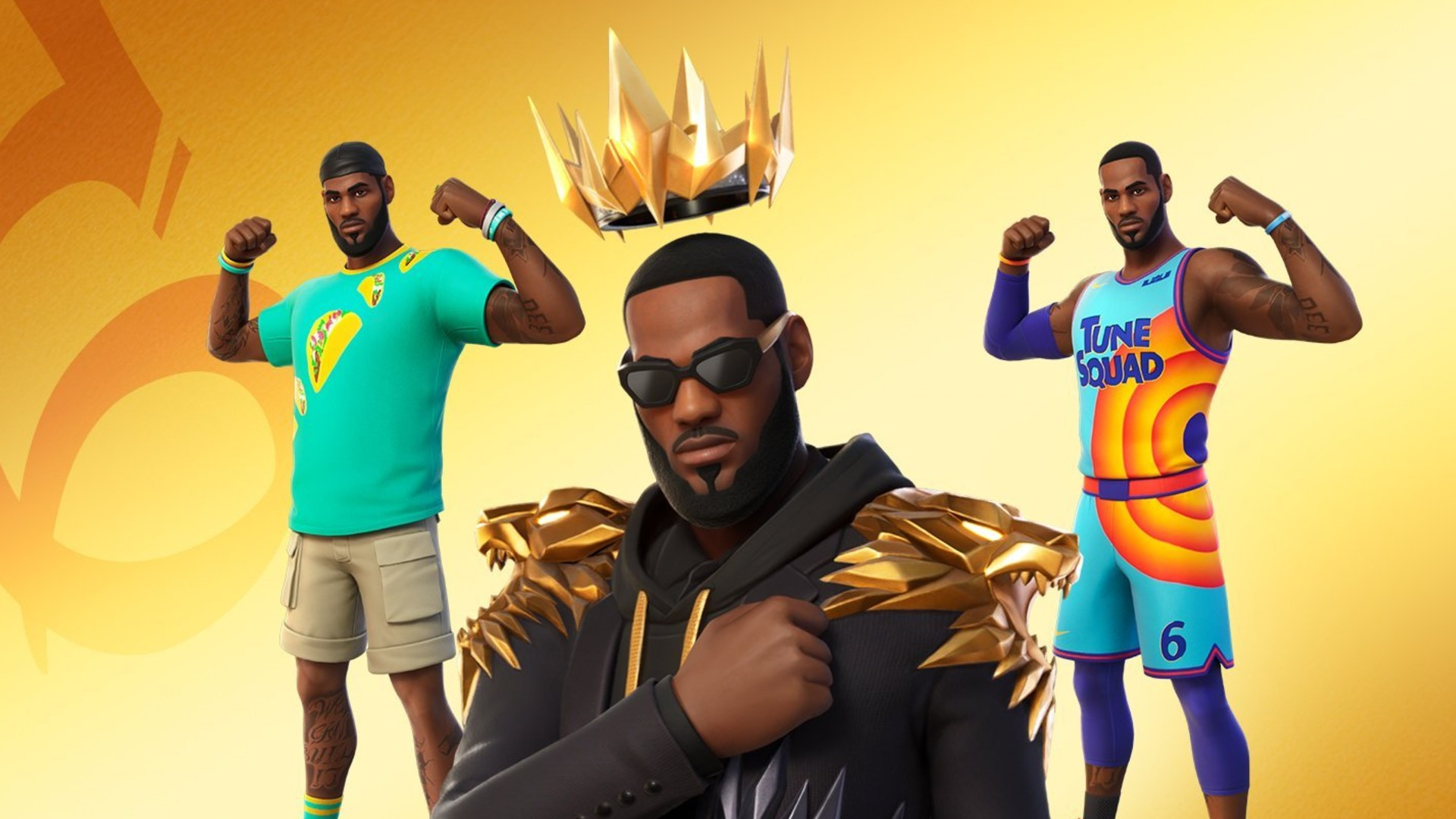 LeBron James is officially in Fortnite