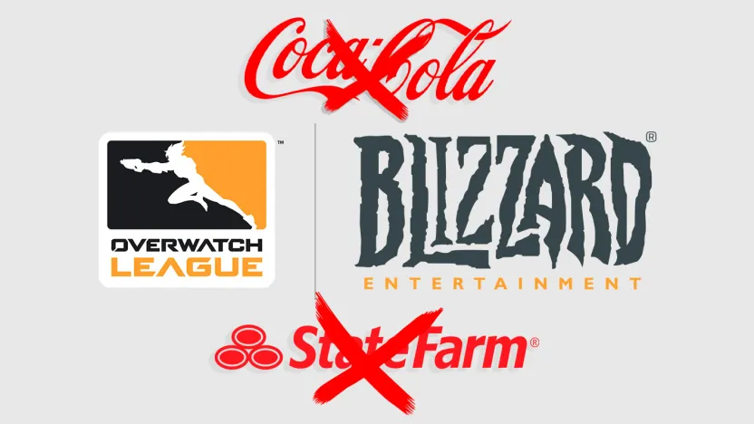 Thanks to the Activision Blizzard lawsuit, Overwatch League is dropping sponsors
