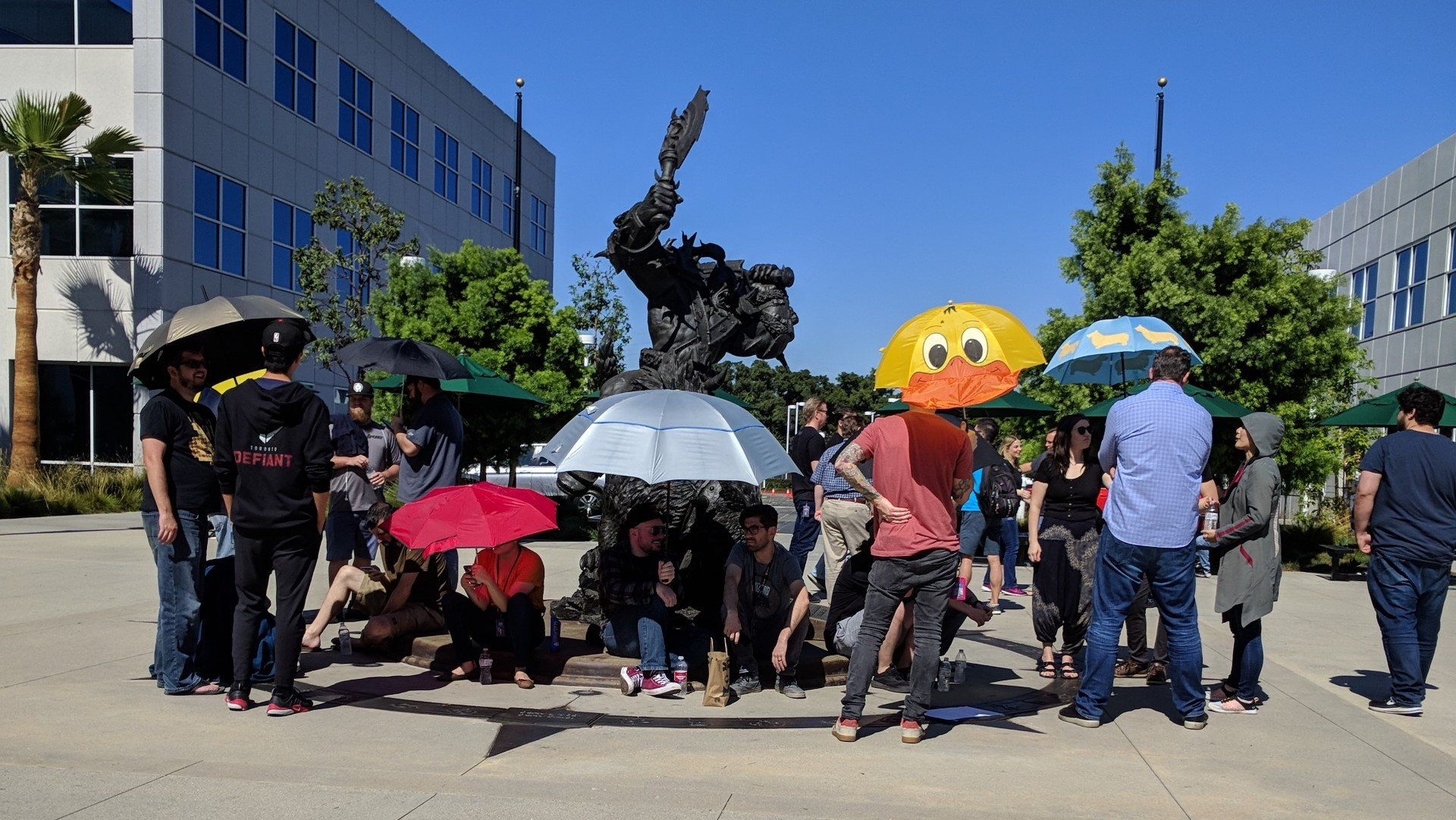 Employees at Activision Blizzard held a walkout for equality