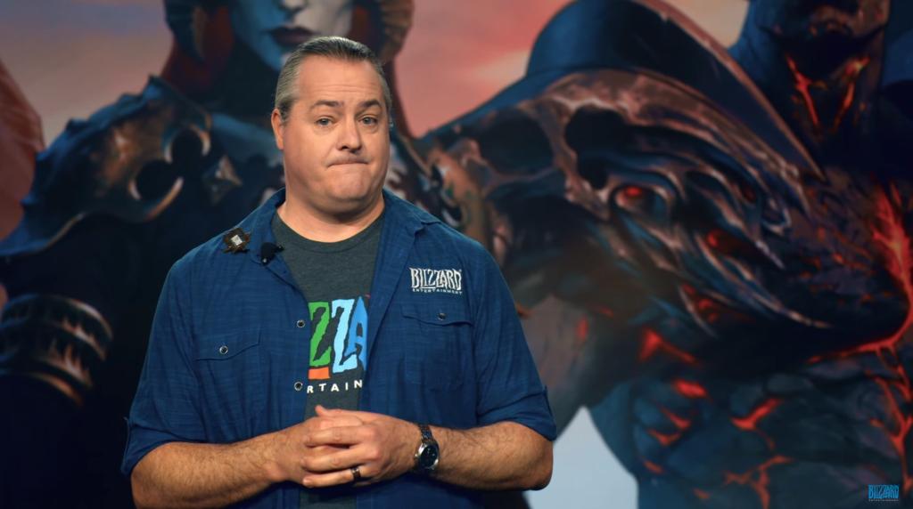 Blizzard President steps down amid company discrimination scandal
