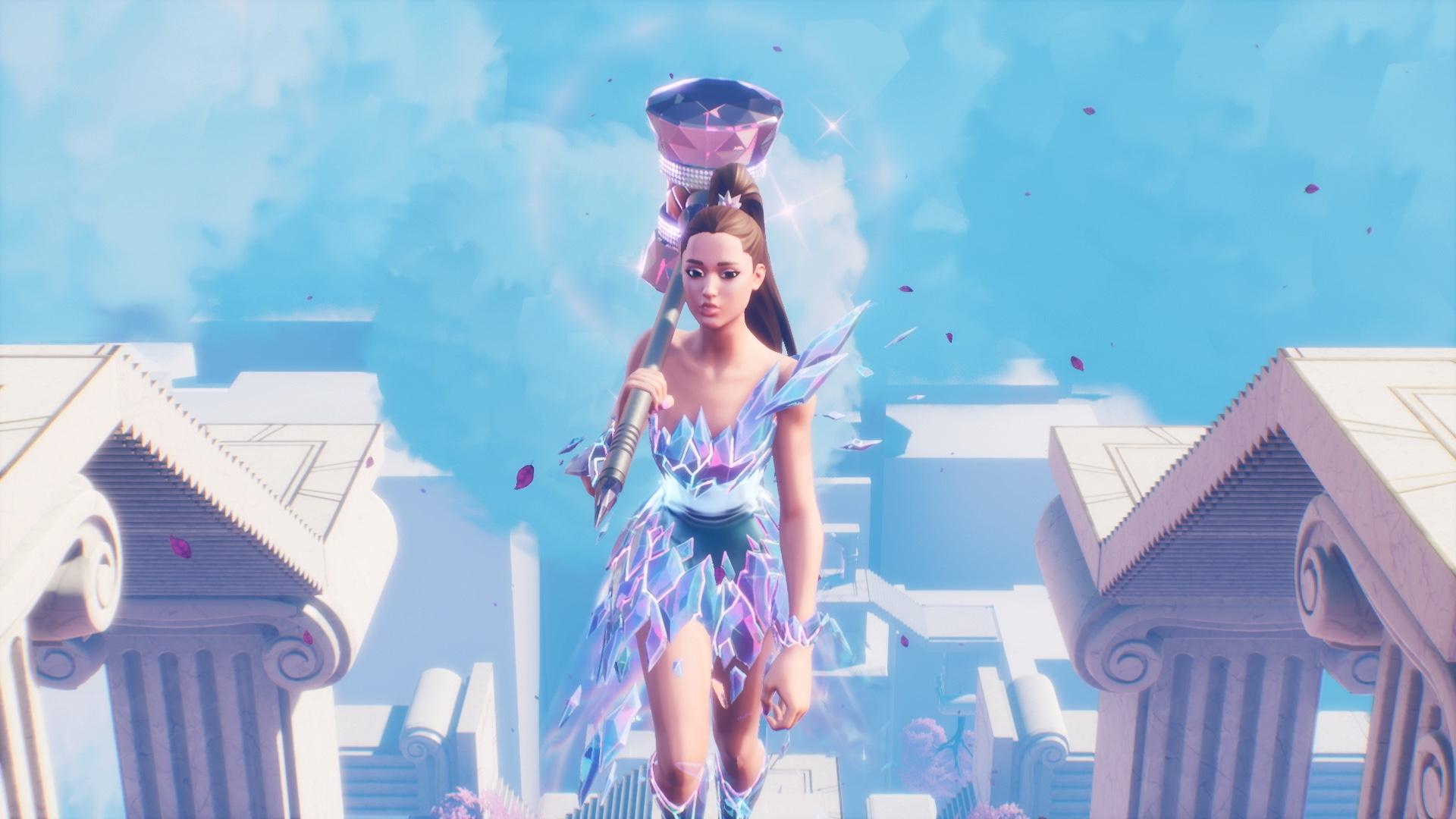 Pop star Ariana Grande held a concert in a video game