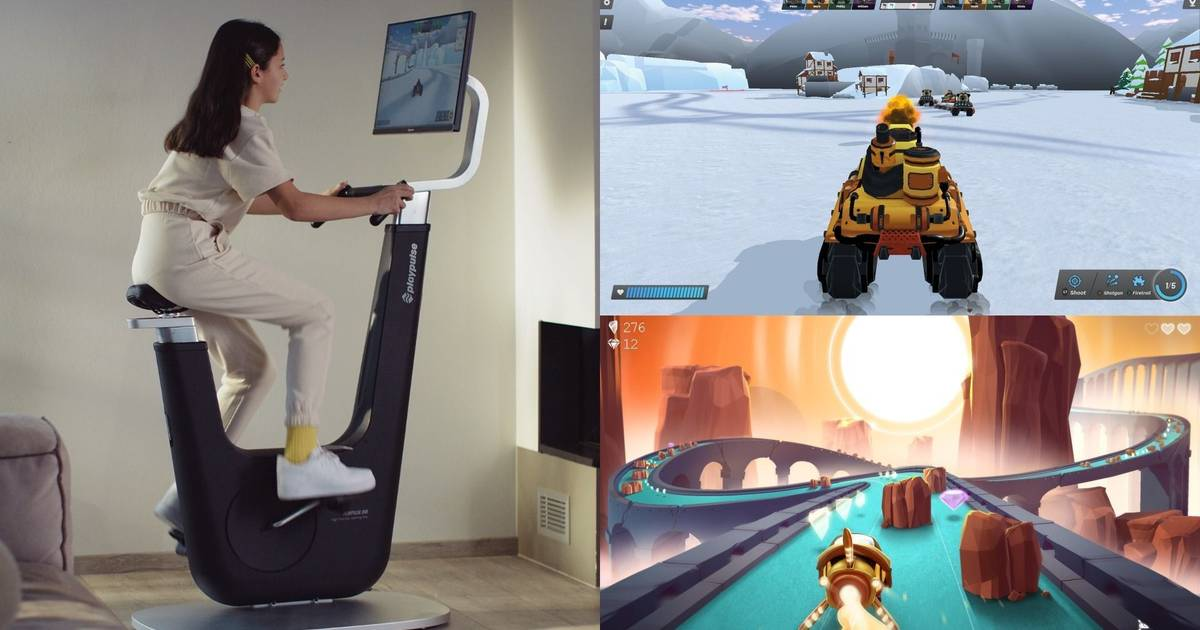 Playpulse's new exercise bike is the Peloton for gamers