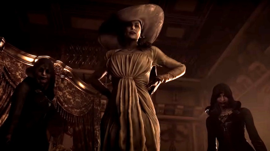 The Internet's new video game crush is a very tall, probably vampiric lady
