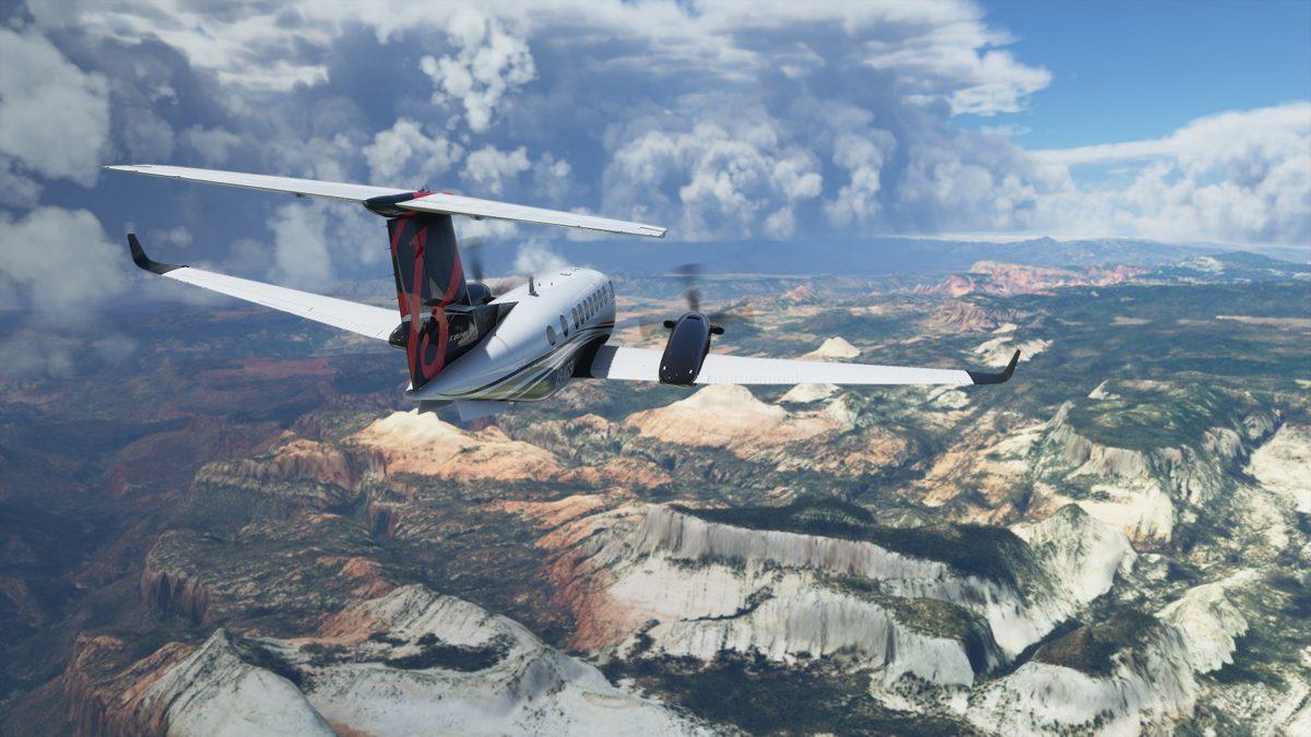 The crazily detailed Microsoft Flight Simulator cuts its file size in half