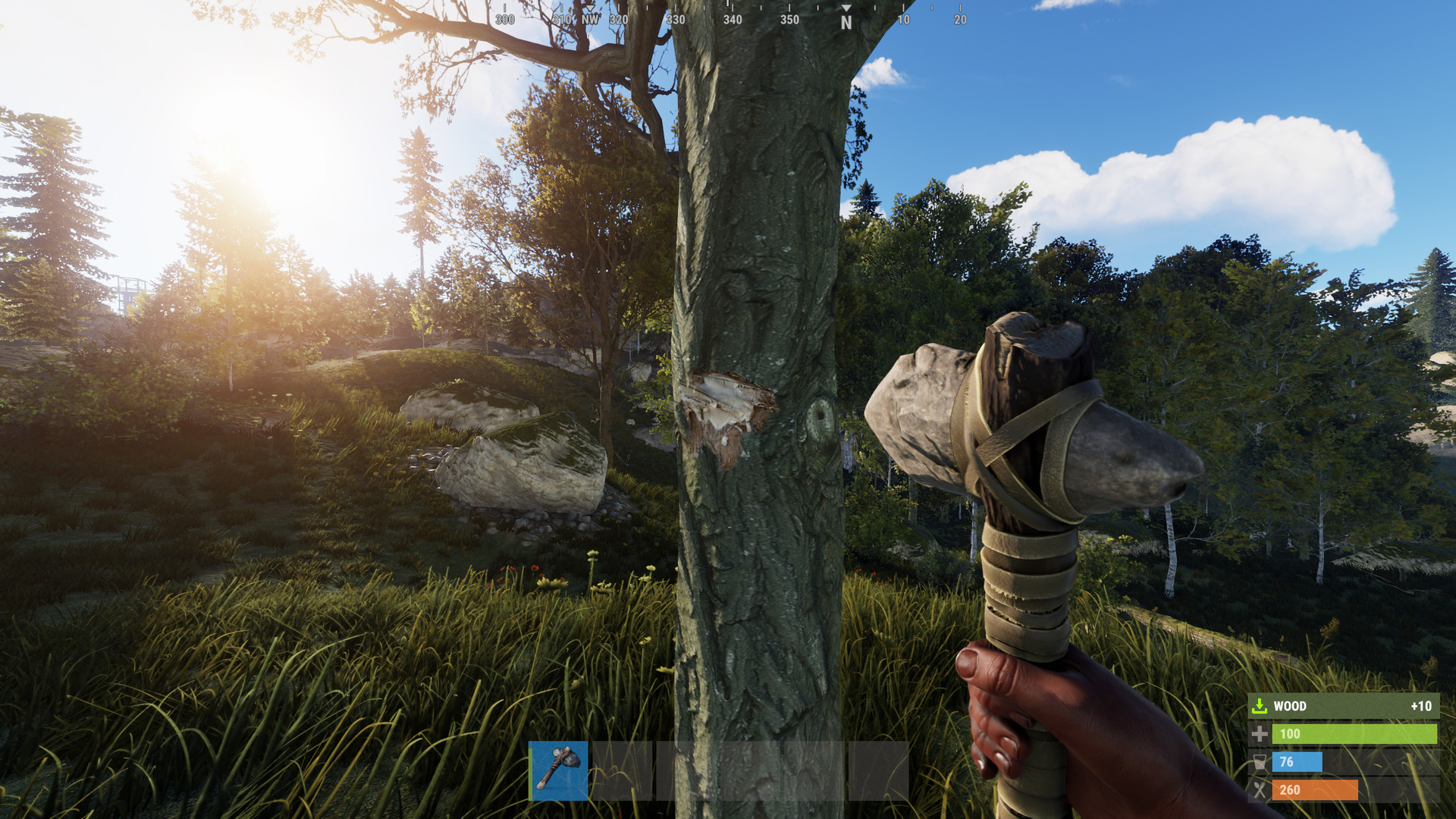 Hardcore game Rust gets a softer side