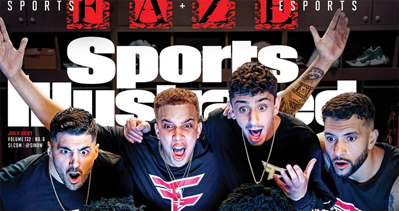 FaZe Clan is the first esports org to grace the cover of Sports Illustrated
