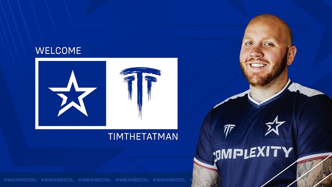 YouTube's TimTheTatman now partly owns Complexity Gaming