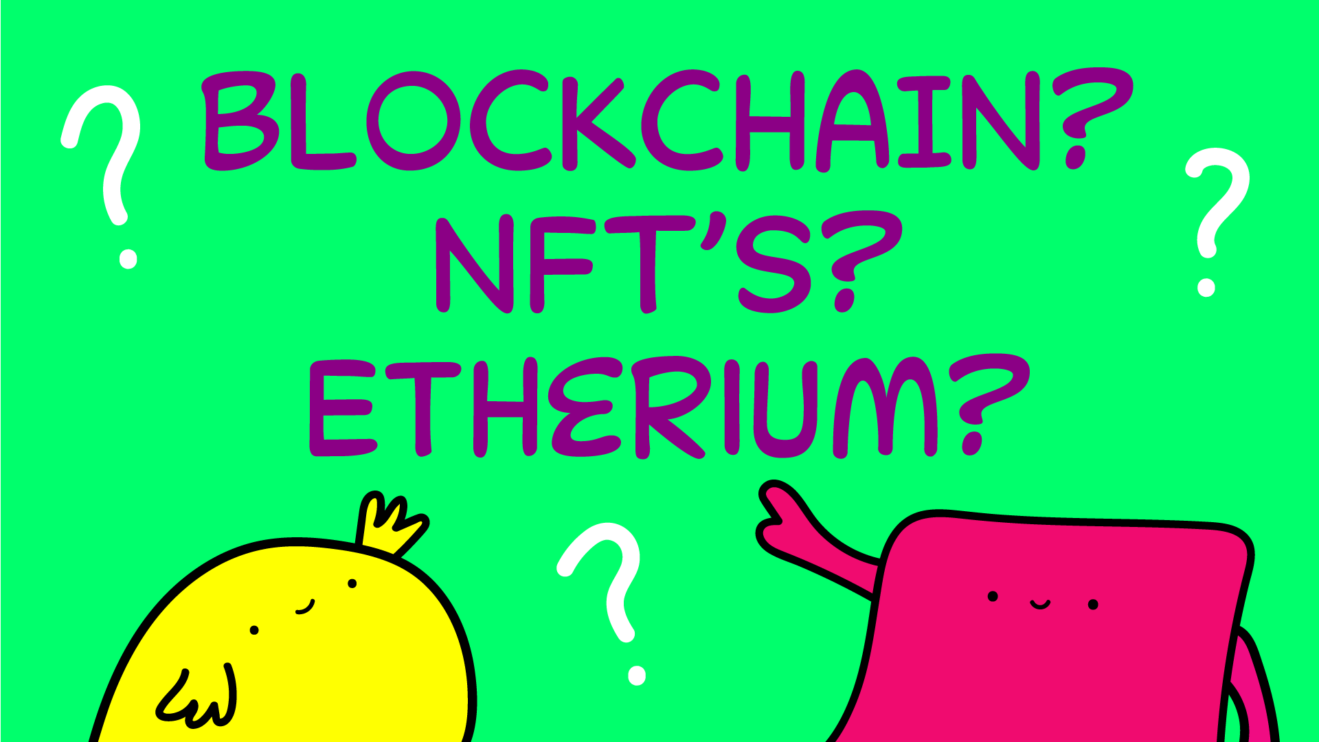 Are you a non-fungible Hooman drinking Etherium?