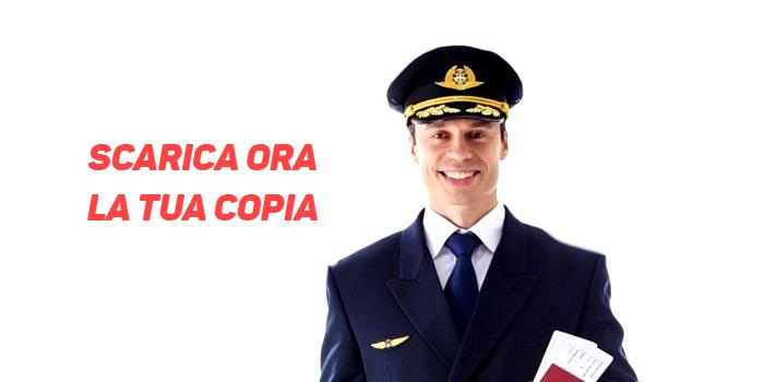 diventare  pilota di aerei di linea